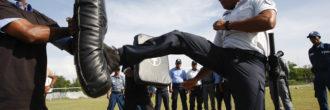 Pruebas físicas para vigilante de seguridad