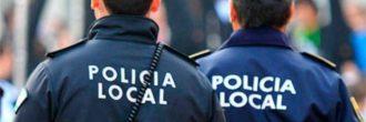 Pruebas físicas de la policía local